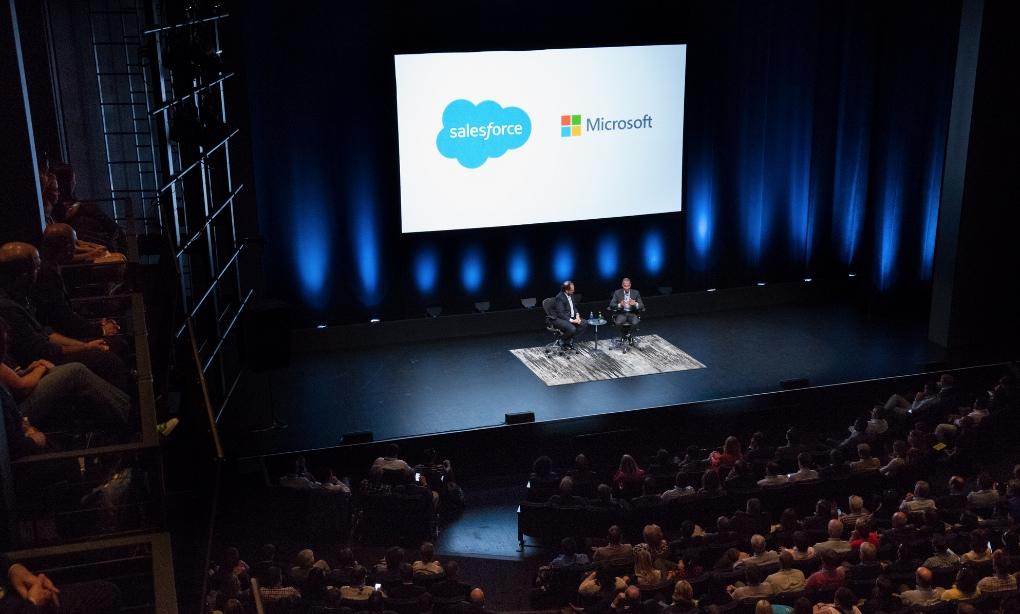 Microsoft y Salesforce desvelan nuevas soluciones en Dreamforce 2014