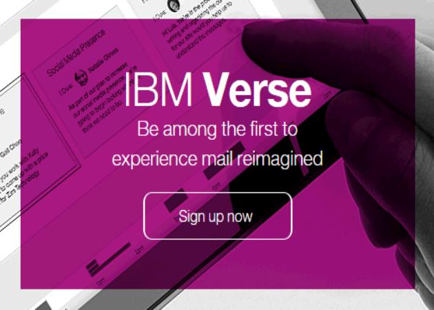IBM Verse, nuevo servicio de email para empresas