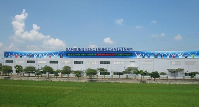 Samsung obtiene la licencia para su gran proyecto en Vietnam