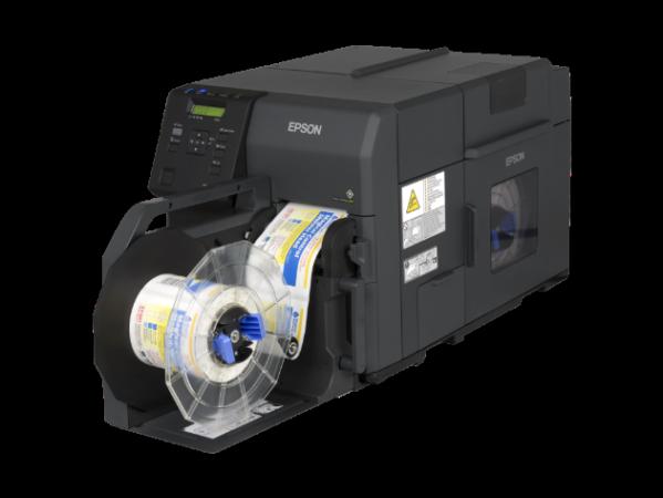Epson lanza una impresora industrial de etiquetas a color