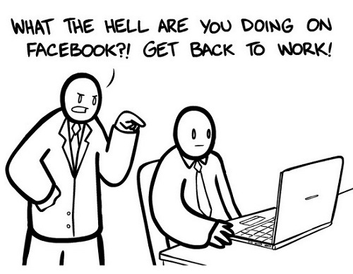 """Facebook at work"""