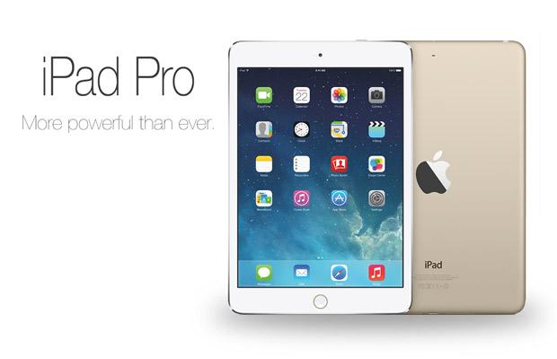 El iPad Pro de 12,9″ no llegará hasta el segundo trimestre de 2015