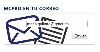 mcpro en tu correo