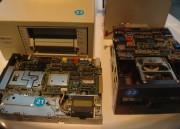 Unidad de discos flexibles y de cintas DLT