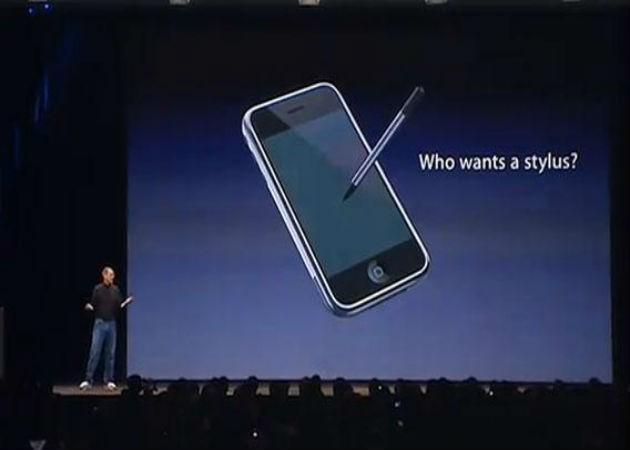 Apple registra una patente para una stylus