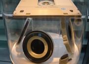 Disco óptico de 24 pulgadas y cinta magnética pequeña