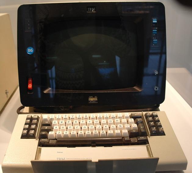 Terminal 3279 IBM