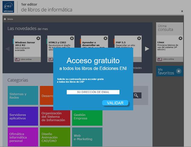 Acceso ediciones ENI