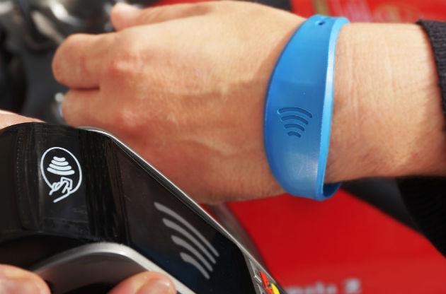 Nueva gama de pulseras Visa -contactless-