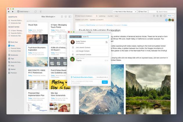 Work Chat, la nueva forma de colaborar en Evernote
