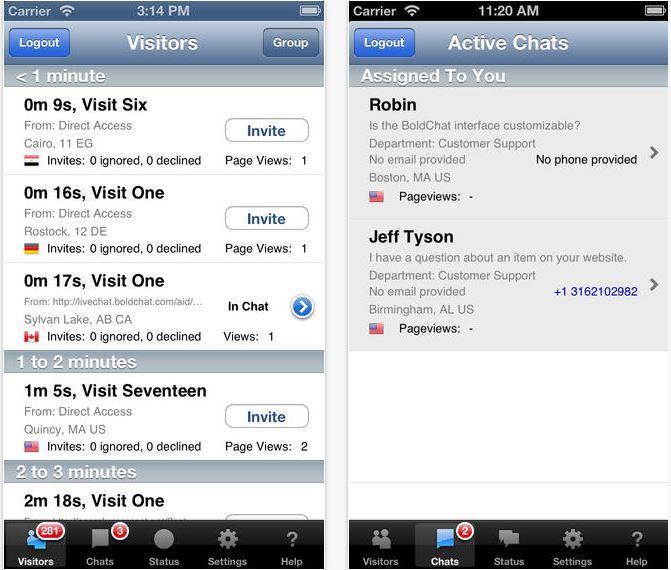 BoldChat incluye traducciones en tiempo real