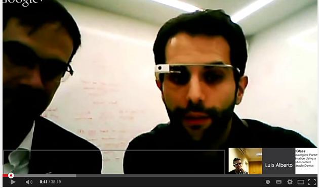 Usos de Google Glass en el mundo de la enseñanza