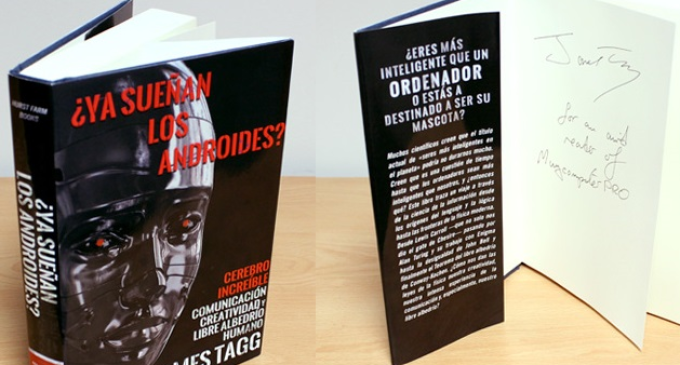 ¿Conoces a James Tagg? Regalamos su libro firmado