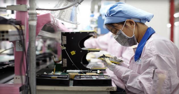Apple niega las acusaciones de maltrato a los empleados de sus proveedores chinos