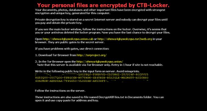 Descubierto un nuevo virus que te obliga a pagar para poder ver tus archivos