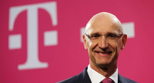Tim Hoettges CEO Deutsche Telekom