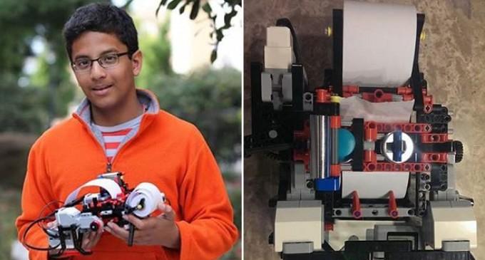 Intel financia la startup de un niño de 13 años