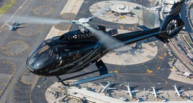 Gotham Air: Un servicio como Uber, pero con helicópteros