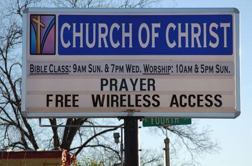 iglesias con wifi