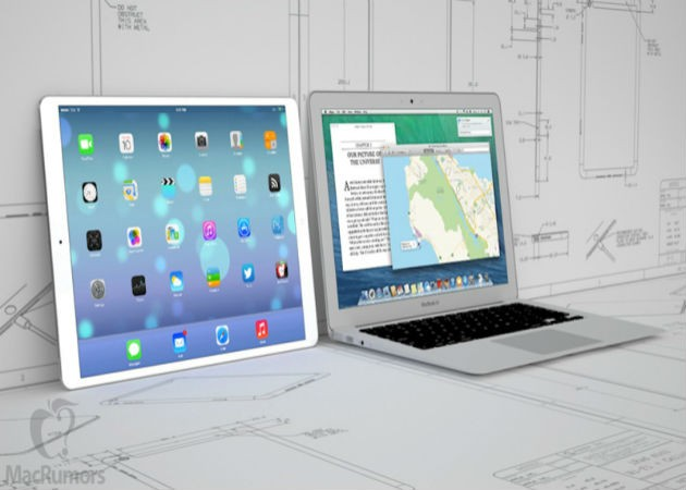 Se filtra la primera imagen del iPad Pro de 12 pulgadas