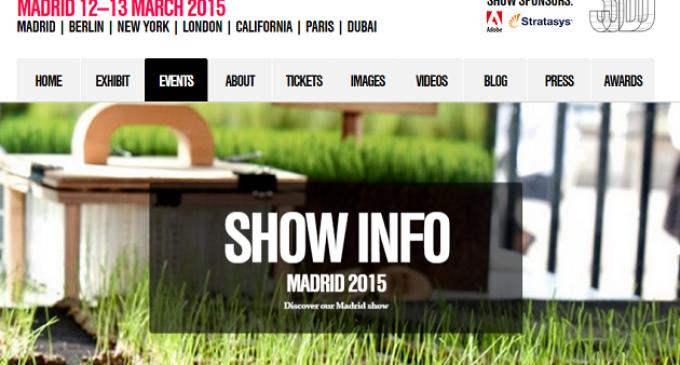 Madrid acoge el 3D Printshow, todo sobre la impresión 3D, los días 12 y 13 de marzo