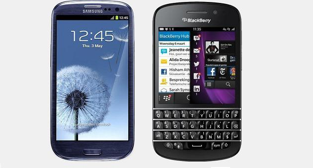 Samsung quiere Blackberry