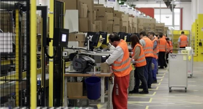 Amazon creó 6.000 nuevos trabajos permanentes en Europa en 2014