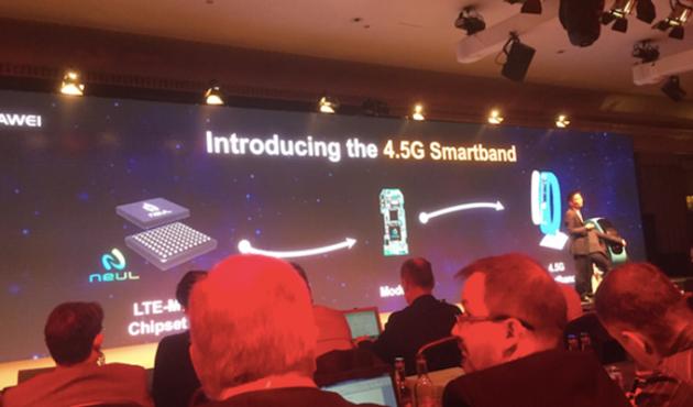 4.5G de Huawei
