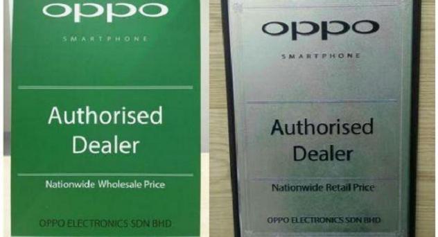 Oppo certificado autenticidad