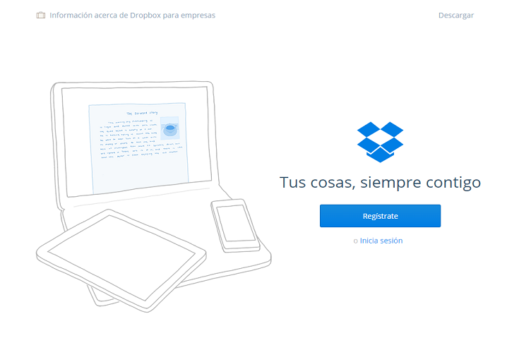 dropbox web