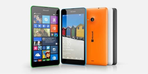 Lumia 535 con todos los servicios de Microsoft