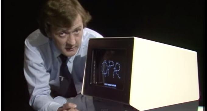 En 1982 ya había pantallas táctiles