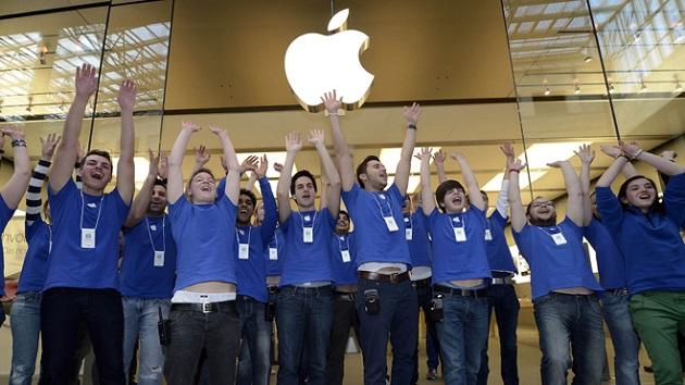 trabajadores Apple