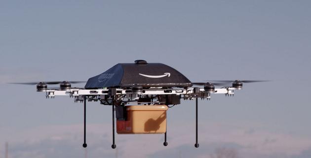 Amazon drones permiso