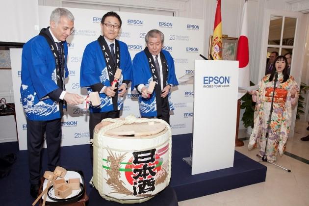 Epson cumple 25 años en España