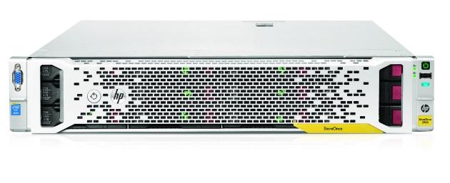 Soluciones HP de almacenamiento escalables para las pymes