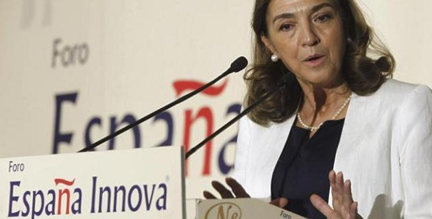 Secretaria de Estado de I+D+i Carmen Vela
