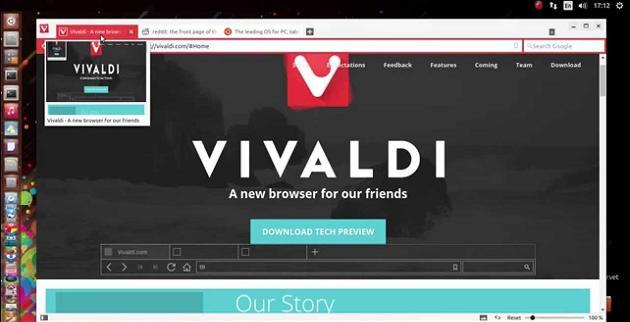 Vivaldi navegador web