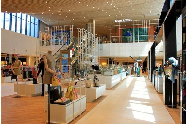 centro comercial Terrasses du Port
