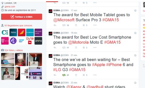 La organizadora del MWC premia a Apple, la gran ausente de la feria