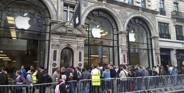 Apple Store colas