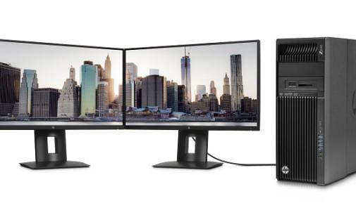 HP anuncia nuevas estaciones de trabajo y monitores profesionales