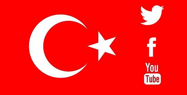 Facebook, Twiiter, YouTube Turquía