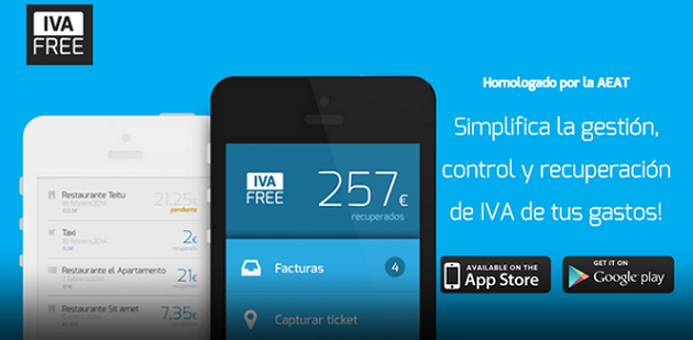 aplicación IVA FREE