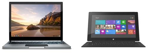 Guerra de precios entre Microsoft y Google por las tablets