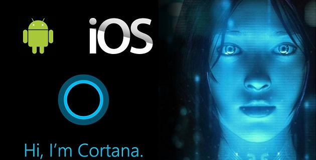 Cortana en Android e iOS