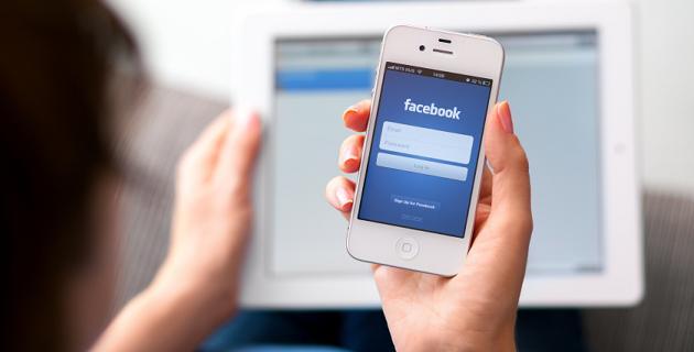 Facebook buscador web
