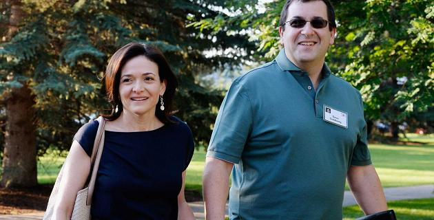 Sheryl Sandberg y David Goldberg