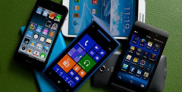 Smartphones mercado 2015