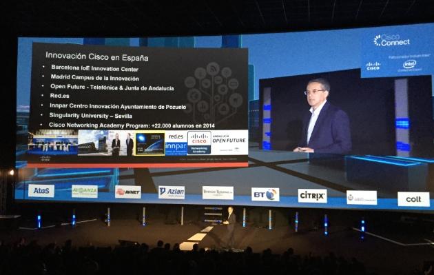 Cisco Connect 2015 trae a Madrid su mensaje de transformación digital